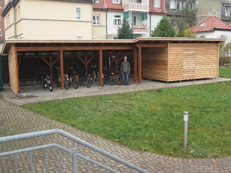 nordth ringer lebenshilfe wohnverbund neuer fahrradschuppen f r die awg. Black Bedroom Furniture Sets. Home Design Ideas